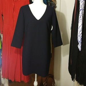J Crew Mini Navy Sheath Dress